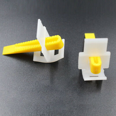 50/100Pcs Tile Leveling Wedges Spacers System Flooring Level Lippage