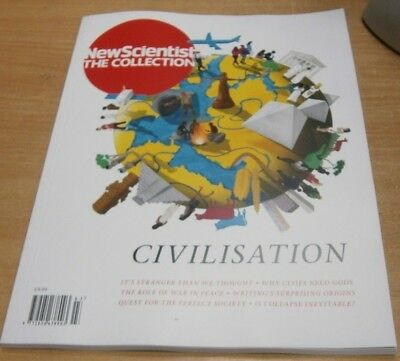 New Scientist magazine The Collection: Civilisation, Role of War & Peace & more