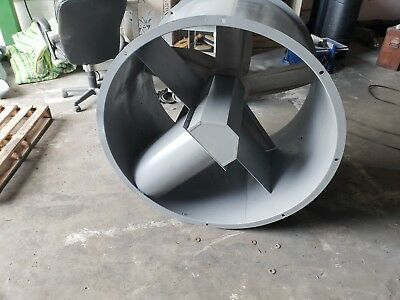 "42"" DIA TUBE AXIAL EXHAUST FAN FOR PAINT SPRAY BOOTH no motor"