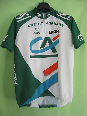 Maillot cycliste Credit Agricole LOOK Tour 1999 Nalini Jersey cycling - 4    L 065393814