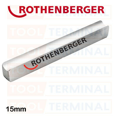 Rothenberger 15mm Replacement Pipe Bender Guide For Multi Hand Bender 8.0175