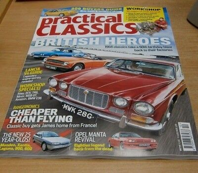 Practical Classics magazine OCT 2018 MG Magnette, Morris Minor 1000, Peerless GT