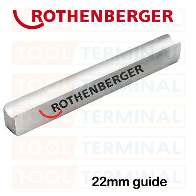 Rothenberger 22mm Replacement Pipe Bender Guide For Multi Hand Bender 8.0178