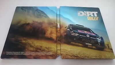 Dirt Rally : Steelbook VIDE [Collector - G2 - XboxOne/Ps4/PC]