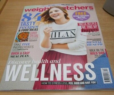 Weight Watchers magazine OCT 2018: 84 Recipes, Mental Health, Quick&Easy Meals