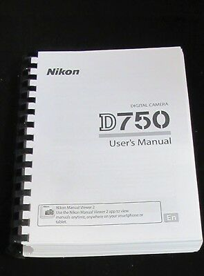 NIKON D4  DIGITAL CAMERA PRINTED INSTRUCTION MANUAL USER GUIDE 484 PAGES A5