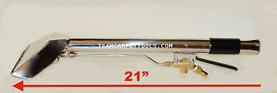 """Carpet Cleaning STRAIGHT STAIR TOOL Upholstery Wand With 8"""" Head 2-Jet 25"""" LONG"""