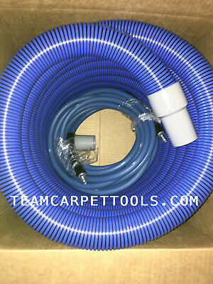 """25 ft. 1.5"""" Carpet Cleaning Extractor Vacuum & 25 ft. 1/4"""" Solution Hose w/ QDs"""