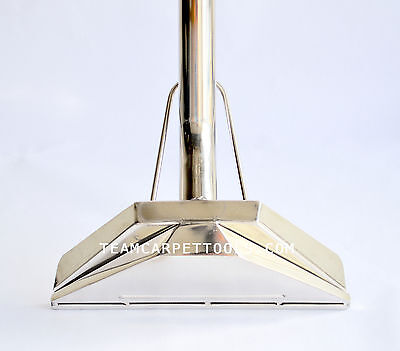 """Carpet Cleaning Wand Standard Profile 12"""" SBend AW29 style 2-Jet 1.5"""" Truck&Port"""