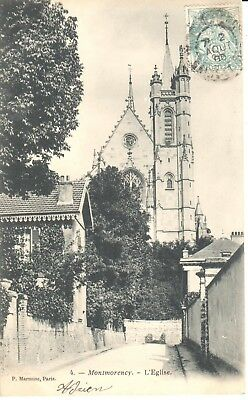 CPA - (95) Val d'Oise - Montmorency - L'Eglise