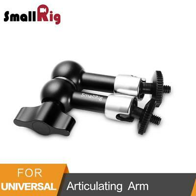 """7 Inch Adjustable Friction Power Articulating Magic Arm With Both 1/4"""" Thread"""