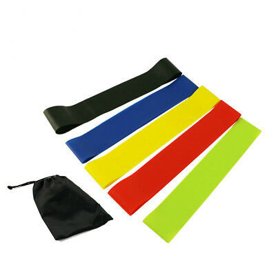Exercise Resistance Loop Bands Yoga Gym Sport Fitness Workout Stretch Training
