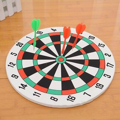 11.6'' Home Entertainment Foam Dart Board & Darts Game Set For Man Game Room