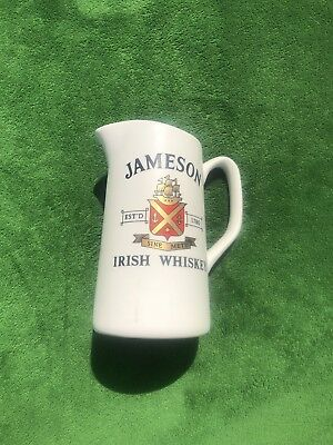 "Vintage ""Jameson Irish Whiskey"" Ceramic Pitcher Carrigdhoun Pottery CO-OP"