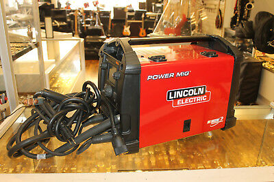 lincoln electric power mig 210 mp multi process welder free shippinglincoln electric power mig 210 mp multi process welder free shipping!