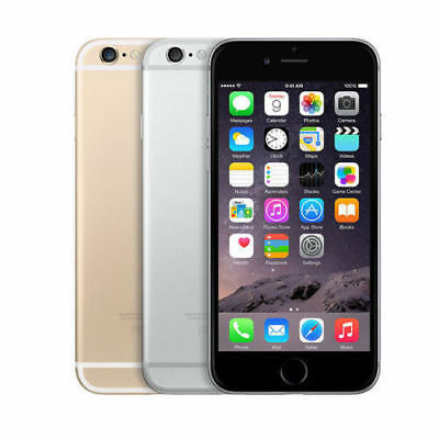 Apple iPhone 6 16GB 64GB 128GB Smartphone Factory Unlocked (No Touch ID)