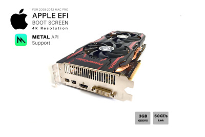  SAPPHIRE R9 280x 3GB GPU For Apple Mac Pro w/EFI, Boot screen