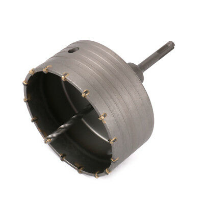 125mm Hole Saw Core Drill Bit With 110mm Round Shank Kit For Cement Bricks Wall