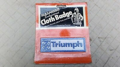 1970s Period Accessory - TRIUMPH Sew On patch by Alexander