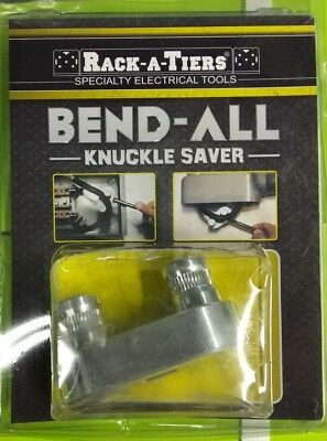 Rack-A-Tiers 77455 Bend-All Knuckle Saver Bend Wire Sizes 3Awg-500Mcm Inside Enc