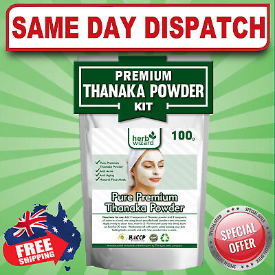 POWERFUL SKIN WHITENING LIGHTNING Facial Mask Anti Acne Clay Powder AU FAST SHIP