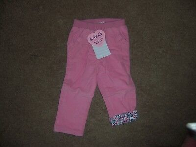 Jojo maman bebe  Pretty cord pull ups pants size 6-12 months new