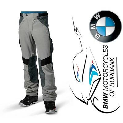 BMW Motorrad Motorcycle Genuine Rallye Pants Gray/Gray °