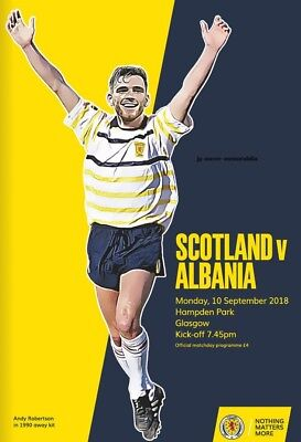 Scotland v Albania - UEFA Nations League - 10 September 2018 - Glasgow Seller