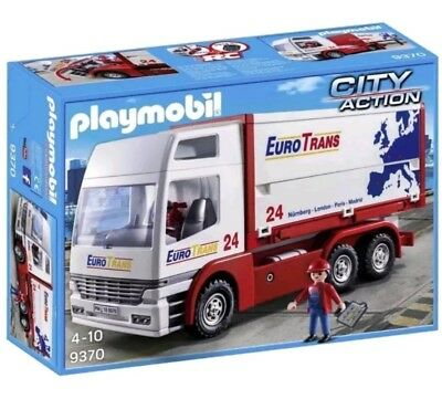 Playmobil Euro Trans City Action 9370 - Brand New