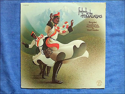 Festivals of the Himalayas - David Lewiston - LP