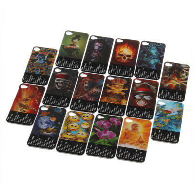 3D Case Cover For iPhone 4 &4S 3D Flash Effects Hard Cover Protector for 4 4S NS
