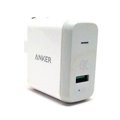 Anker Quick Charge 3.0 18W Usb Wall Charger Powerport+ 1 For Galaxy S7/S6 New