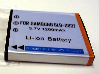 Replacement Battery Samsung SLB-0837 SLB0837 K06a