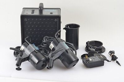 EXC++ BRONCOLOR MOBIL 31.010.03.08 w/2 MOBILITE HEADS, CASE, NEEDS BATTERY REPL.