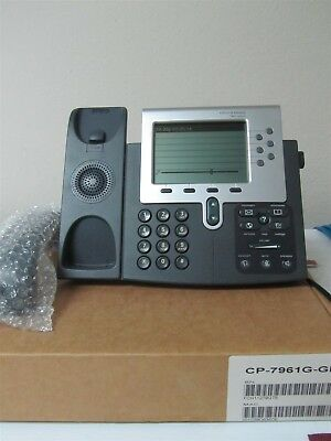 Grade AA Cisco CP-7961G-GE with 1 year warranty.