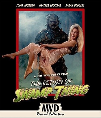 Return Of Swamp Thing [New Blu-ray] With DVD