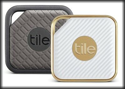 Tile Pro Series Smart Tracker, Key, Phone Finder (Sport/Graphite or Style/White)