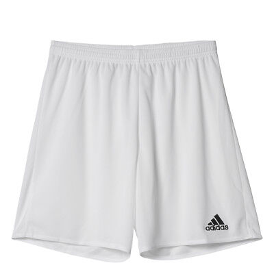 Men's Adidas Parma 16 Soccer Shorts White/Black