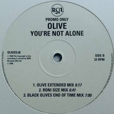 "12"": Olive - You're Not Alone - RCA - OLIVEDJ8"