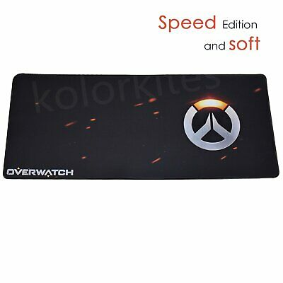 Overwatch Large SPEED Edition Soft Gaming Mouse Pad 700mm x 300mm Laptop PC Mat