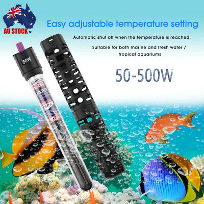 50/100/200/300W Aquarium Fish Tank Automatic Auto Water Thermostat Heater ES