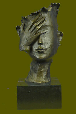 Shamed- Modern Bronze Sculpture - Homage to Salvador Dali, signed: Home DEAL
