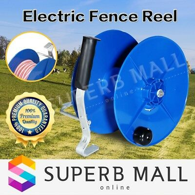 Wind Up Reel UV Stabilized Fence Reel Electric with Crank Handle