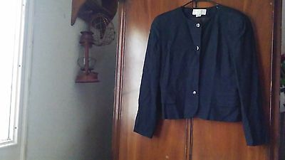 Vintage Christian Dior The Suit Black Blazer, *has Issues,size 12