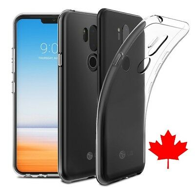 LG G7 ThinQ Case - Ultimate Crystal Clear TPU Gel Case (G7 PLUS) Best Quality