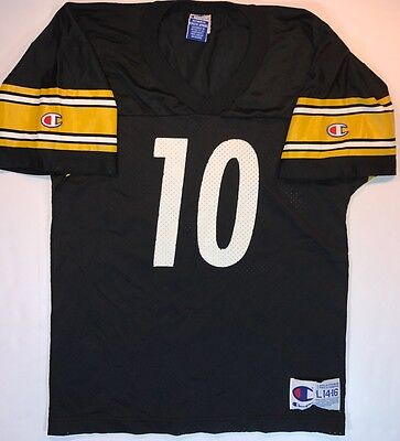 027d3403c33 Pittsburgh Steelers Kordell Stewart NFL Champion Football Jersey Youth Large