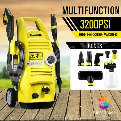 Multifunctional 3200PSI High Pressure Washer Water Pump Hose lightweight Cleaner