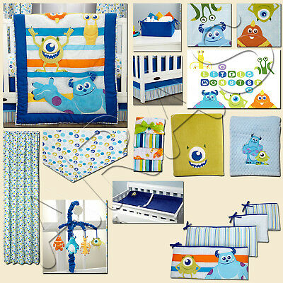 Monsters, Inc monsters at Play: 17-Piece Crib Bedding Set by Disney Baby