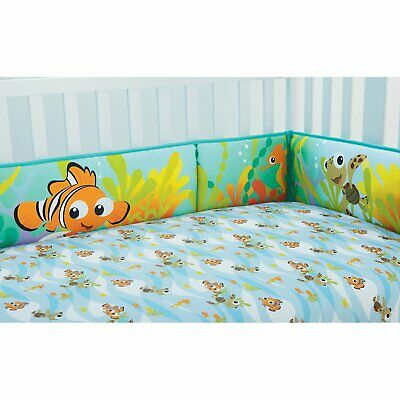 "9 Pc.""Nemo's Reef"" Bedding Set by Disney Baby NO COMFORTER, REPLACED W/BLANKET"