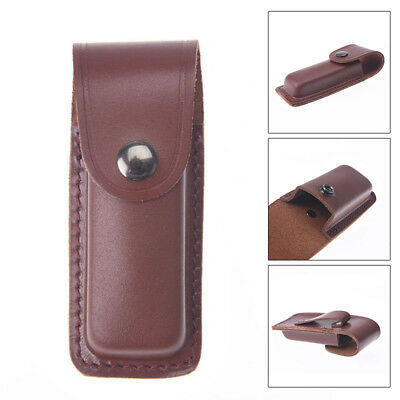 1Pcs Leather Sheath Holster Pouch Bag Pocket Hunt Camp Outdoor Carry Multi Gear